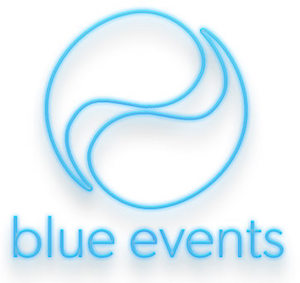 Blue Events - logo